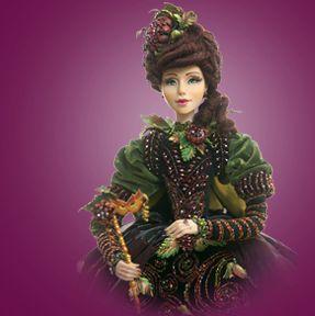 «Дамы и кавалеры».  Авторские куклы Ольги Романовой.