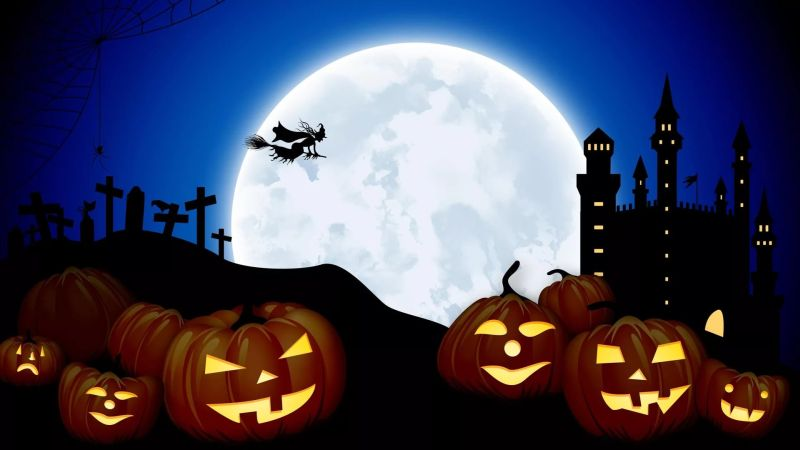 обои на рабочий стол на тему хэллоуин № 1135935 бесплатно