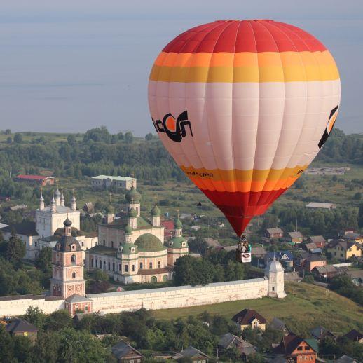 «Золотое кольцо России». Фестиваль воздухоплавателей на тепловых аэростатах