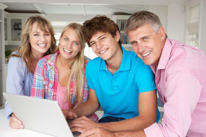 Картинки подросток родители