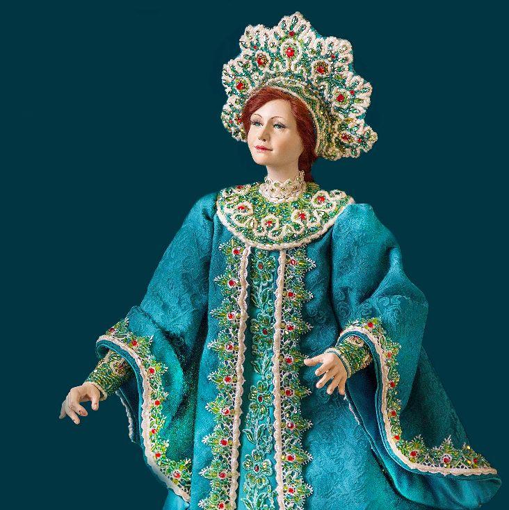 Сказки для больших и маленьких. Сказочные персонажи в исполнении кукольного мастера Ольги Романовой.