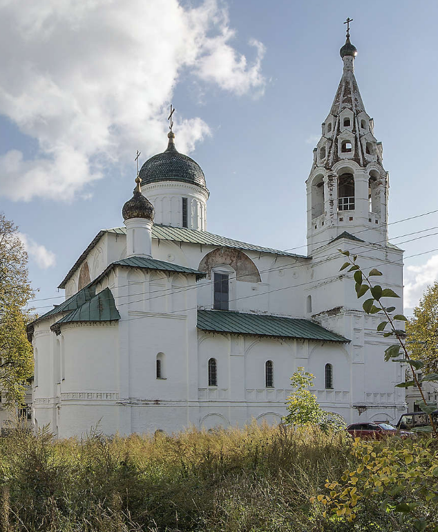 Иконостас и иконы: Надей Светешников и Федор Волков 16+