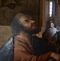 'Сошедшие с небес'. Фигурные иконы апостольского чина из церкви Николы Надеина