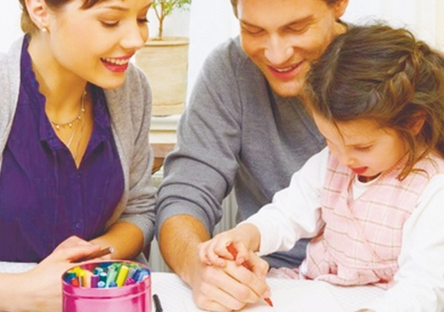 очное знакомство с ребенком