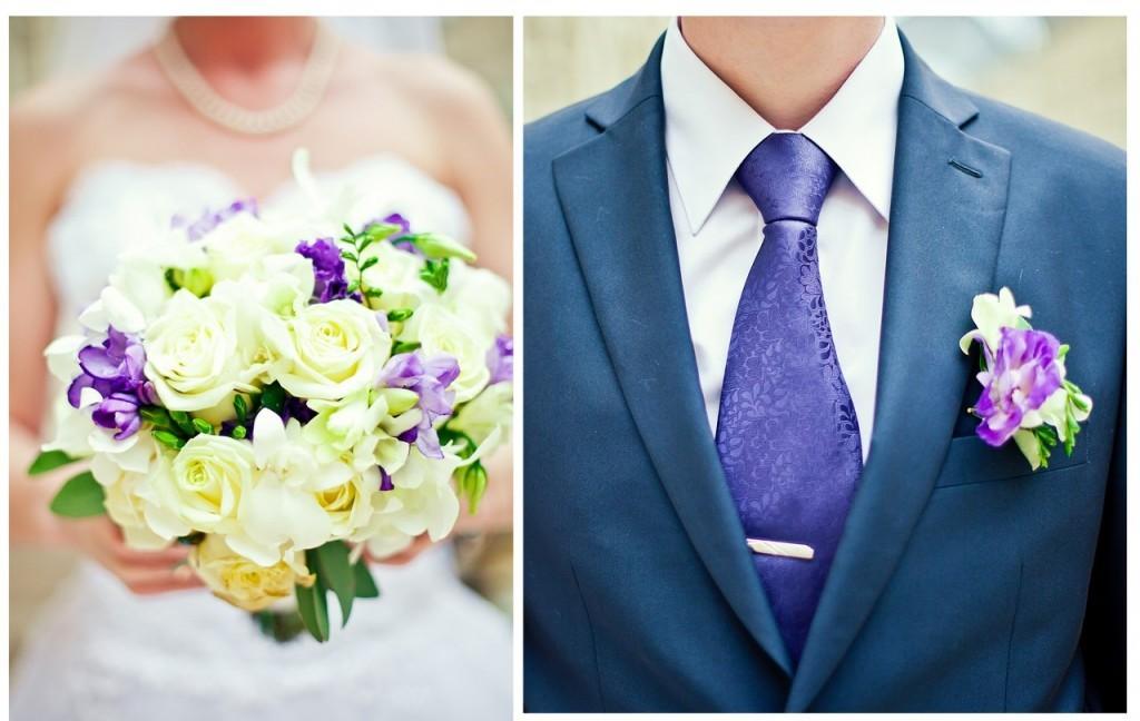 Свадебные букеты невесты и бутоньерки. Обзор салонов цветов Ярославля