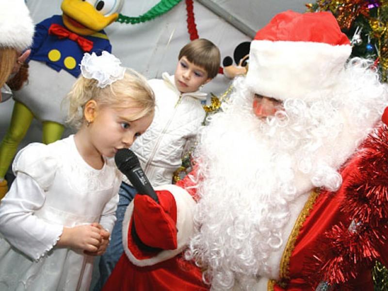 Детские конкурсы и мероприятие на новый год